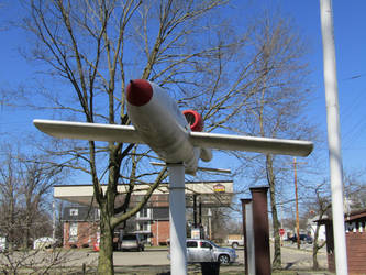 JB-2 buzz bomb  2 by magnumsoldier
