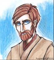 Obi Wan Kenobi by PurpleRAGE9205