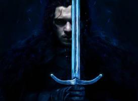 Last Watch (Jon Snow) by MajinMetz