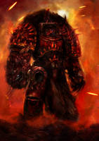 Warhammer 40k: Khorne's Bastard by MajinMetz
