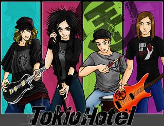 Tokio Hotel by samtsukino
