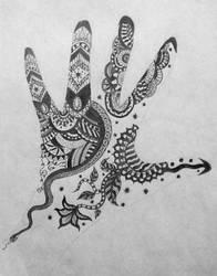 Henna Design by golden-demeter