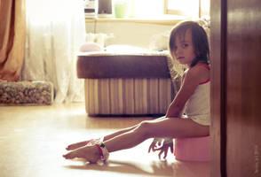 True gymnast do it graceful. by Ann-Sever