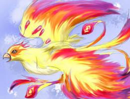 Flight of the Pheonix by RainbowFountains