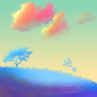 Hillside by RainbowFountains
