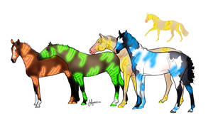 Yearling adoptables by RainbowFountains