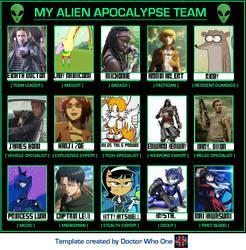 Alien assault meme by M4X1LL10N