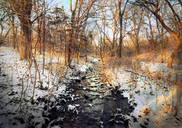 Black Ice River by tommymurphy