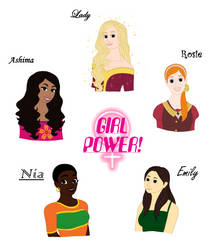 GIRL POWER!!! by MaddGirlz3761