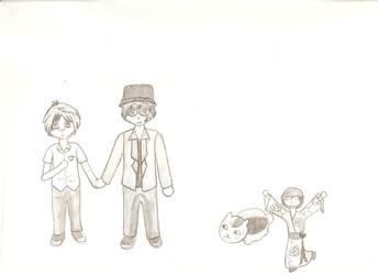 Problem on Set Fanart~ by Reiko-Akaihi