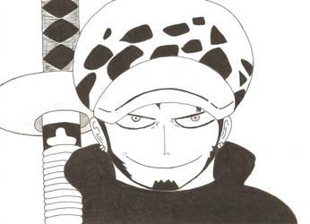 Law - One Piece by Reiko-Akaihi