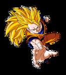 Goku SSJ3 by DBZArtist94