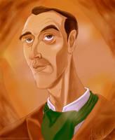 Sherlock Holmes by OrangeBlueCream