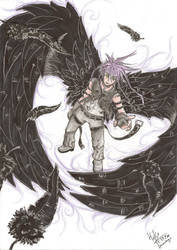 dark, leyendari thief fanart by newtier