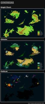 Gondwana Maps by Dae-Thalin