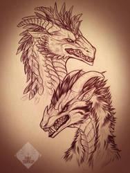 Fyris and Tissana by Dae-Thalin