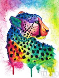 Rainbow Cheetah Remake by Dae-Thalin