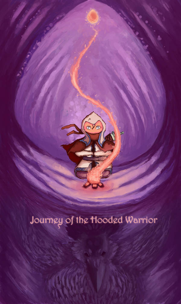 Journey of the Hooded Warrior by Minaem1