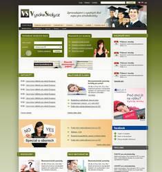 Student portal VysokeSkoly by Nikol-Kokesova