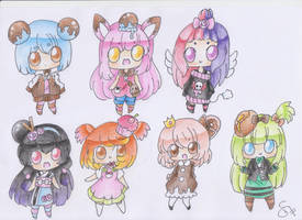 Chibi Adoptable CLOSED by YoYokai