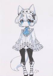 Tokki-Alternative Fancy Outfit by YoYokai