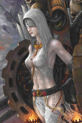 Sisters of Battle: penitent engine by Theocrata