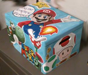 Super Mario box (1) by xRobbieRottenx