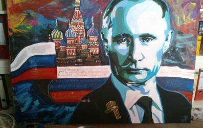 Mr. Putin by xRobbieRottenx