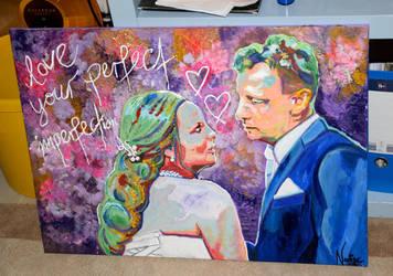 Wedding Couple by xRobbieRottenx