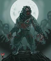 Bloody Werewolf by elmorafocka