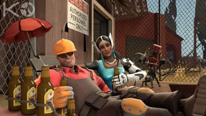 [TF2/OW-SFM] Engineer's Rec Time by Kwarduk