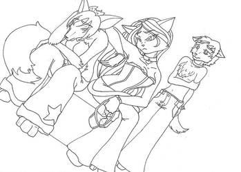 Furry Family by SoedBlackChaos
