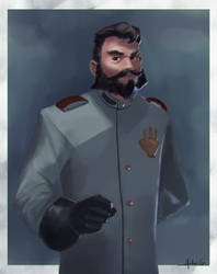 Project Nemo: The Captain by AnGueDrew