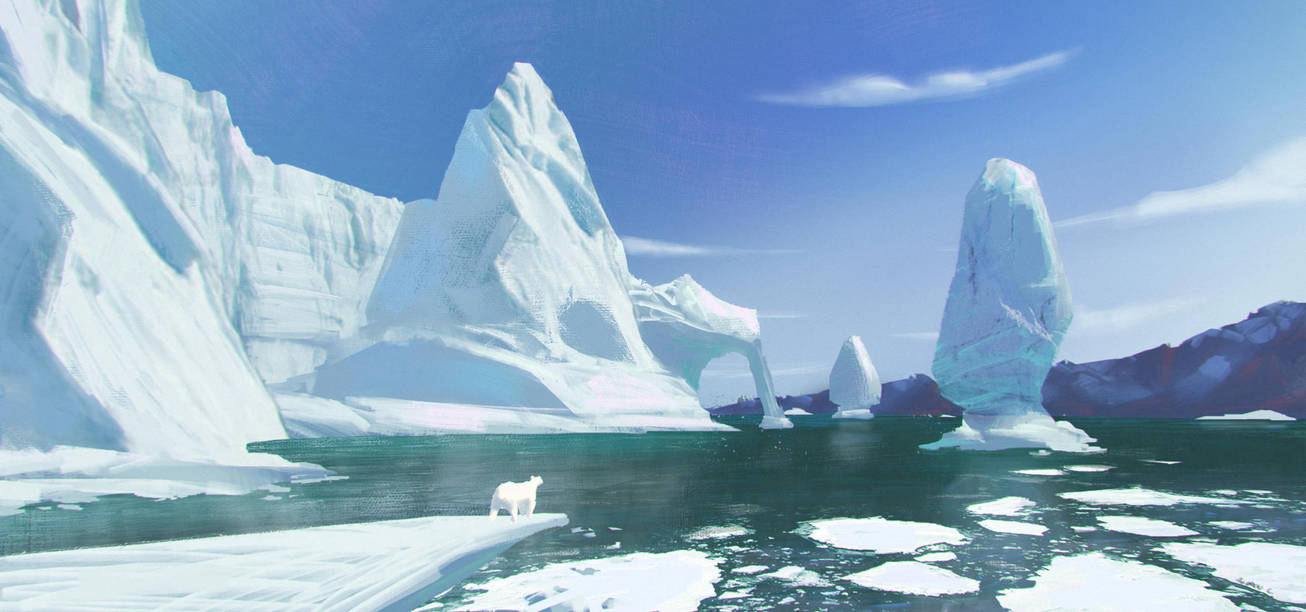 Ice Env  #2 by AnGueDrew