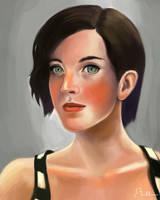Self Portrait by Ebillan