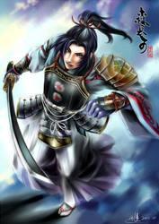 Mori Nagayoshi Musou-Styled by stvictoria