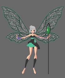 Winx OC: Releathe Dark Spiritix by Gerganafen