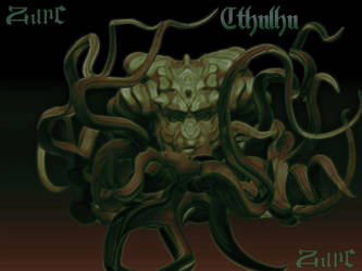 Cthulhu by Zurcgraphic