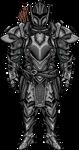 Ebony Armor (SKYRIM) by FlashingPixel