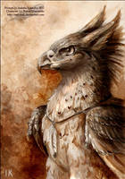 Ric as a gryphon by Red-IzaK