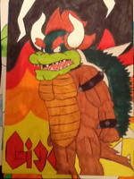 Giga Bowser by Iwatchcartoons715