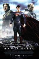 Man of Steel (2013) - Poster #2 by CAMW1N