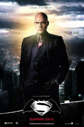 Batman V Superman (2016) Lex Luthor Poster by CAMW1N