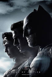 Batman V Superman (2016) - Trinity Poster B by CAMW1N