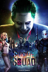 Suicide Squad (2016) - Poster 6 by CAMW1N