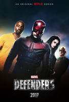 The Defenders (2017) - Teaser Poster by CAMW1N