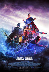 Justice League Poster 2017 by CAMW1N
