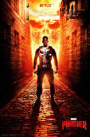 The Punisher (2017) - Netflix Poster 2 by CAMW1N
