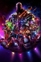 Avengers: Infinity War (2018) - Fan Poster by CAMW1N