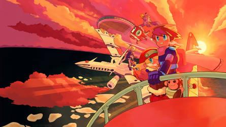 Mega Man Legends 2 - To the Moon by tsukuru-yume